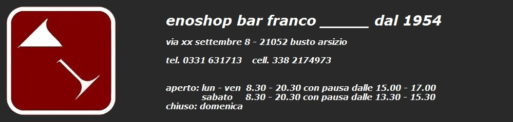 Bar Franco Enoshop by TNP